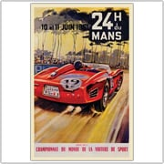 "Trademark Global Beligond ""24 Dumans"" Canvas Art, 35"" x 47"""