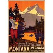 "Trademark Global ""Montana"" Giclee on Canvas Art, 18"" x 24"""