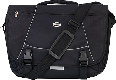 American Tourister Messenger Bag, Black
