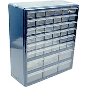 """Trademark Tools™ Deluxe 42 Drawer Compartment Storage Box, 17"""" H x 14 3/4"""" W x 5 1/4"""" D"""