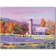"Trademark Global David Lloyd Glover ""Heartland Morning"" Canvas Art, 18"" x 24"""