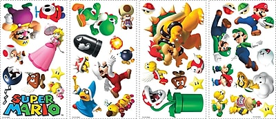 RoomMates® Super Mario™ Peel and Stick Wall Decal, 10