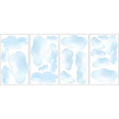 RoomMates® Clouds Peel and Stick Wall Decal, 10
