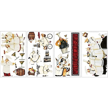 RoomMates® Chefs Peel and Stick Wall Decal, 10