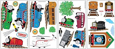 RoomMates® Thomas and Friends Peel and Stick Wall Decal, 10