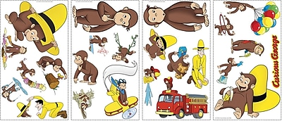 RoomMates® Curious George Peel and Stick Wall Decal, 10