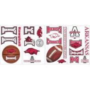 "RoomMates® University of Arkansas® Peel and Stick Wall Decal, 10"" x 18"""