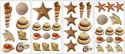 RoomMates® Sea Shells Peel and Stick Wall Decal, 10