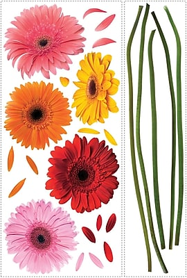 RoomMates® Gerber Daisies Peel and Stick Wall Decal, 40