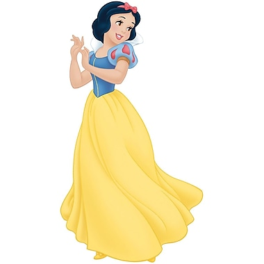 RoomMates® Snow White Peel and Stick Giant Wall Decal with Gems, 18