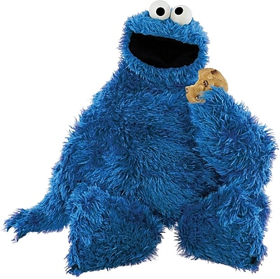RoomMates® Cookie Monster Peel and Stick Giant Wall Decal, 18