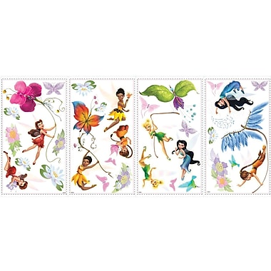 RoomMates® Disney Fairies Peel and Stick Wall Decal with Glitter, 10