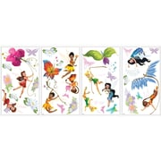 """RoomMates® Disney Fairies Peel and Stick Wall Decal with Glitter, 10"""" x 18"""""""