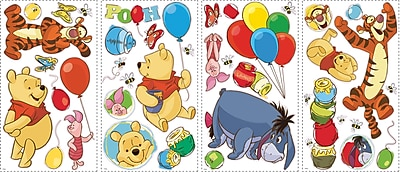 RoomMates® Pooh and Friends Peel and Stick Wall Decal, 10