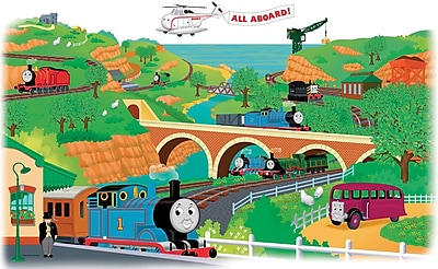 RoomMates® Thomas and Friends Peel and Stick Giant Wall Decal, 18