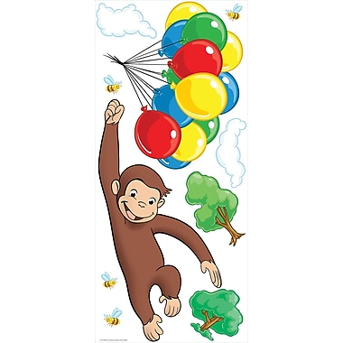 RoomMates® Curious George Peel and Stick Giant Wall Decal, 18