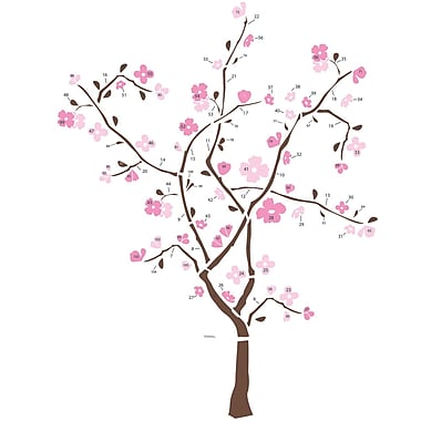 RoomMates® Spring Blossom Tree Peel and Stick Giant Wall Decal, 18
