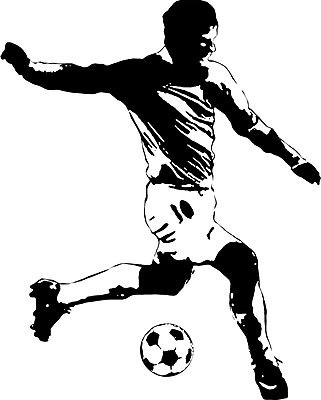 RoomMates® Soccer Player Peel and Stick Wall Decal, 18