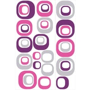 """RoomMates® Modern Ovals Peel and Stick Wall Decal, 18"""" x 40"""", 9"""" x 40"""""""