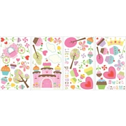 "RoomMates® Happi Cupcake Land Peel and Stick Wall Decal, 10"" x 18"""