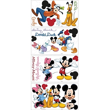 RoomMates® Mickey and Friends Peel and Stick Wall Decal, 10