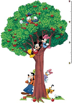 RoomMates® Mickey and Friends Peel and Stick Growth Chart, 18