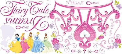 RoomMates® Disney Princess Crown Peel and Stick Giant Wall Decal, 18