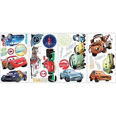 RoomMates® Cars 2 Peel and Stick Wall Decal, 10