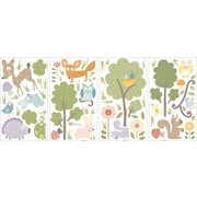 """RoomMates® Woodland Animals Peel and Stick Wall Decal, 10"""" x 18"""""""