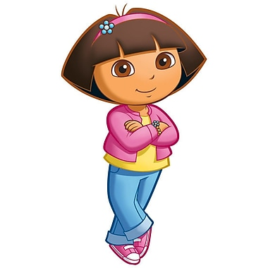RoomMates® Dora the Explorer Peel and Stick Giant Wall Decal, 18