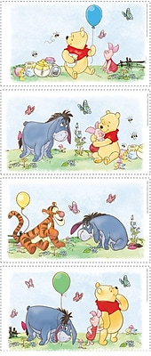RoomMates® Winnie the Pooh Poster Peel and Stick Wall Decal, 10