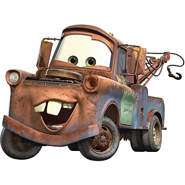 RoomMates® Cars Mater Peel and Stick Giant Wall Decal, 18