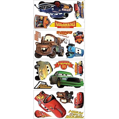 RoomMates® Cars Piston Cup Champs Peel and Stick Wall Decal, 18