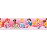 "RoomMates® Disney Princess Dream Peel and Stick Border, Pink, 180"" L x 5"" H"