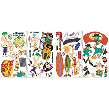RoomMates® Phineas and Ferb Peel and Stick Wall Decal, 10
