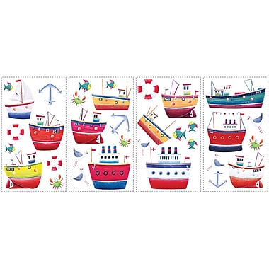 RoomMates® Ship Shape Peel and Stick Wall Decal, 10