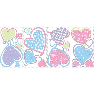 RoomMates® Hearts Peel and Stick Wall Decal, 10