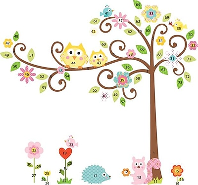 RoomMates® Scroll Tree Peel and Stick Mega Pack Wall Decal, 27