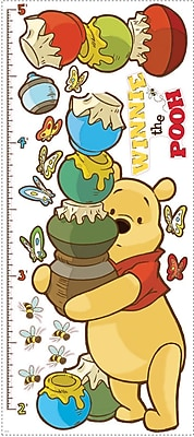 RoomMates® Pooh and Friends Peel and Stick Growth Chart, 18