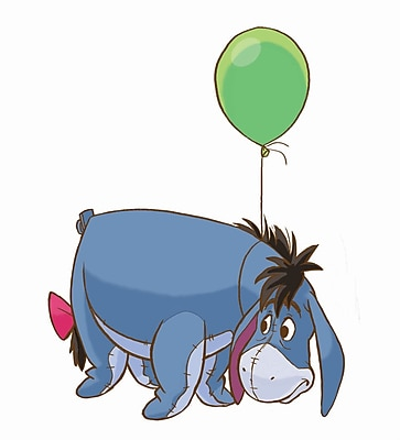 RoomMates® Eeyore Peel and Stick Giant Wall Decal, 18