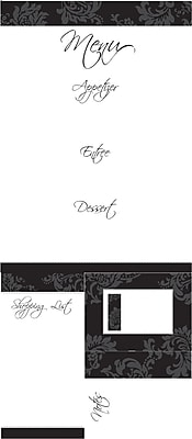RoomMates® Dry Erase Menu Peel and Stick Giant Wall Decal, 18