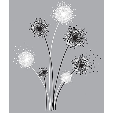 RoomMates® Graphic Dandelion Peel and Stick Giant Wall Decal, 18
