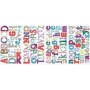 "RoomMates® Boho Alphabet Peel and Stick Wall Decal, 10"" x 18"""