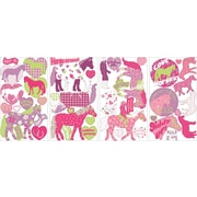 """RoomMates® Horse Crazy Peel and Stick Wall Decal, 10"""" x 18"""""""