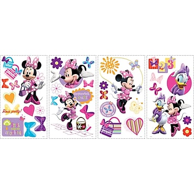 RoomMates® Minnie Bow-Tique Peel and Stick Wall Decal, 10