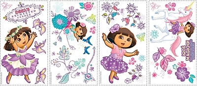 RoomMates® Dora's Enchanted Forest Peel and Stick Wall Decal, 10