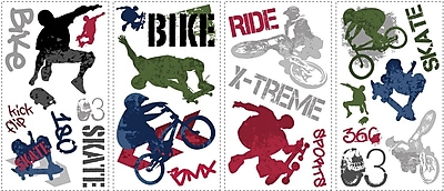RoomMates® Extreme Sports Peel and Stick Wall Decal, 10