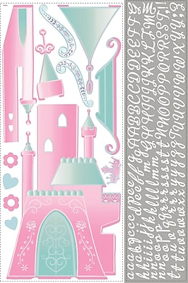 RoomMates® Disney Princess Castle Peel and Stick Giant Wall Decal with Alphabet, 18