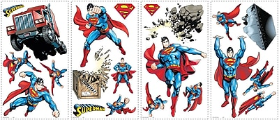 RoomMates® Superman Day of Doom Peel and Stick Wall Decal, 10