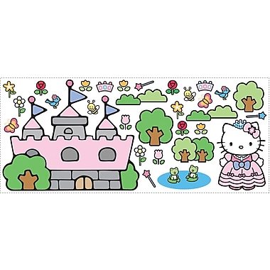 RoomMates® Hello Kitty Princess Castle Peel and Stick Giant Wall Decal, 18